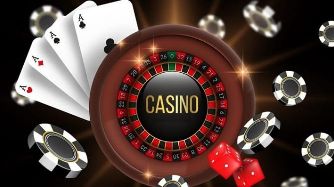 Background Of Casino Poker An Assuming Males Video Game